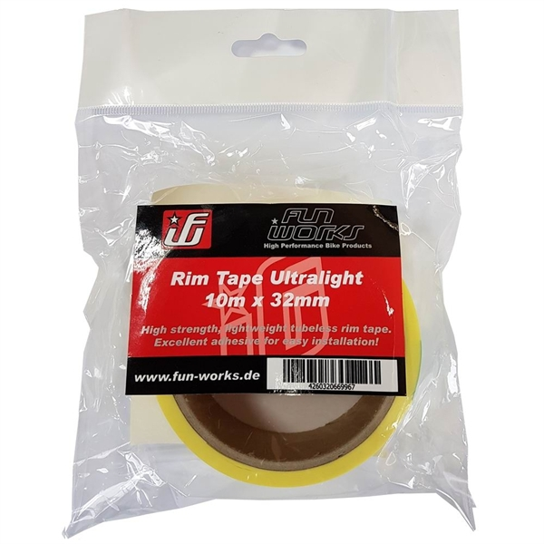 Fun Works Tubeless Rim Tape Ultralight 10mX32mm