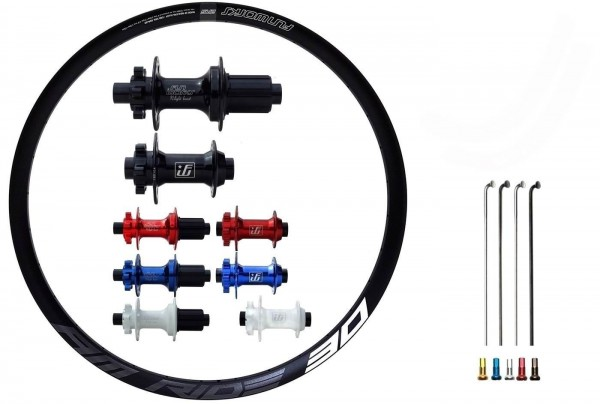 """Fun Works N-Light Boost E-Bike Disc IS Custom Wheelset MTB 27,5"""""""