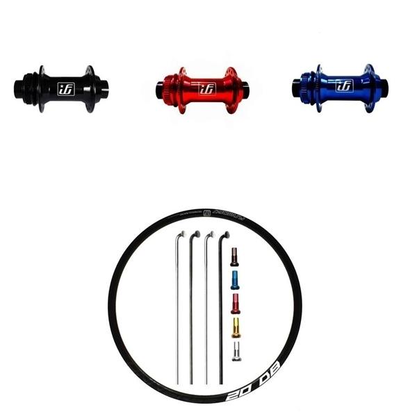 Fun Works N-Light One Disc CL Custom Front Wheel Road disc 700c