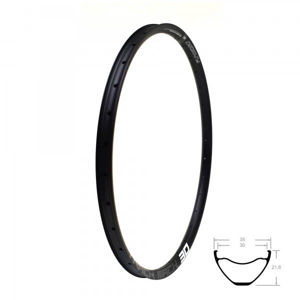 "Fun Works Track Mack 30 Rim 29""black"