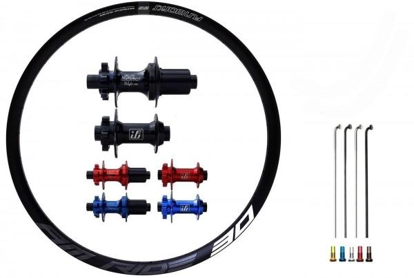 """Fun Works N-Light One E-Bike Disc IS Custom Wheelset MTB 27,5"""""""