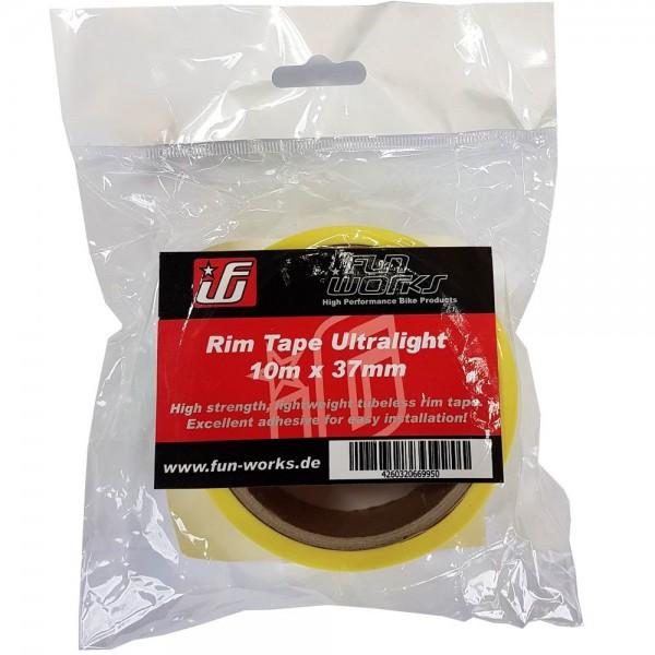 Fun Works Tubeless Rim Tape Ultralight 10mX37mm